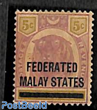 Federated States, 5c, stamp out of set