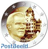 2 euro 2008 Berg Castle