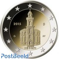 2 euro 2015 Hessen A
