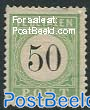 50c, Postage due, Type I, Stamp out of set