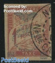 1F, Postage Due, Stamp out of set