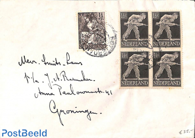 Letter from Rotterdam to Groningen