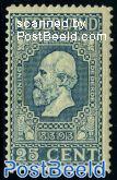 25c, King Willem III