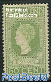 50c., Green, Stamp out of set