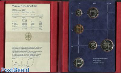Yearset 1983 Netherlands Proof