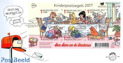Kinderpostzegels FDC 759