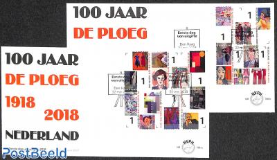 100 years de Ploeg FDC 768a+b