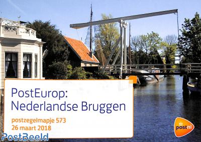 Europa, bridges, Presentation pack 573