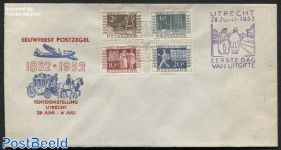 100 Years stamps, ITEP, Eeuwfeest Postzegel cover