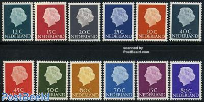 Definitives 12v phosphor (1967-1971)