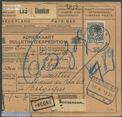 Cover from Ginneke to Roosendaal with nvhp no. 198