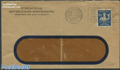 Cover from Utrecht with nvhp no.228