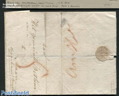 Letter from Amsterdam to Maare