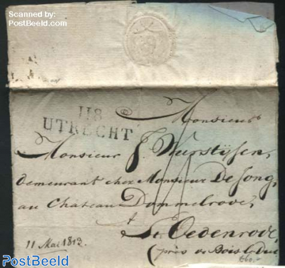 Letter from Utrecht to St Oedenrode