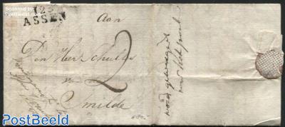 Letter from Assen to Smilde