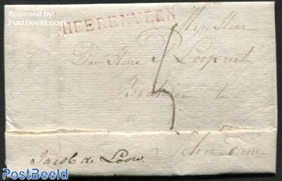 Letter from Heerenveen to Schiedam