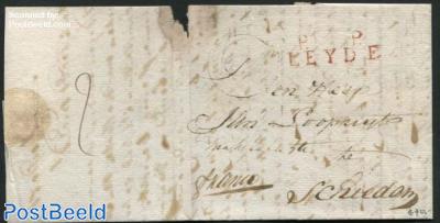 Letter from Leiden to Schiedam