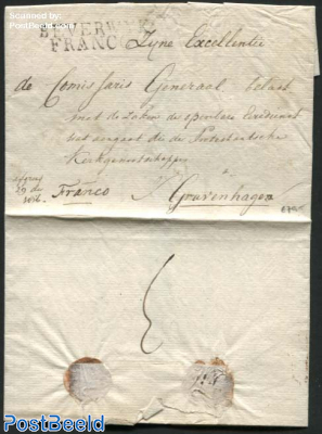 Letter from Beverwijk to s-Gravenhage