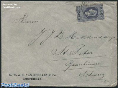 NVHP no.94 on a cover to Graubunden