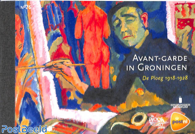 Avant-Garde art in Groningen, prestige booklet
