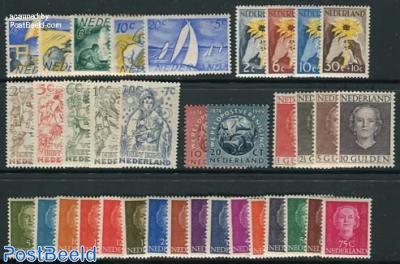 Yearset 1949 (36v)