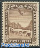 15c, Stamp out of set