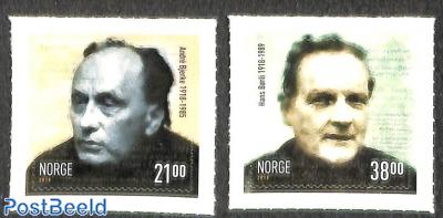 Andre Bjerke and Hans Björli 2v s-a