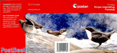 Europa, birds booklet