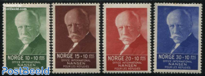Fridtjof Nansen 4v