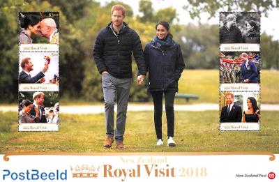 Royal visit Prince Harry & Meghan Markle 6v m/s