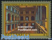 Triest post office 1v