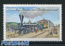 Baden railway station 1v