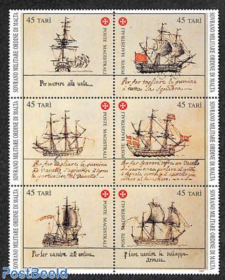 Naval history 6v [++]