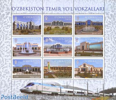 Railway stations 9v m/s