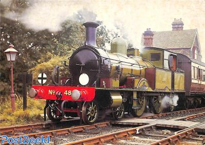 1885 Adams radial locomotive