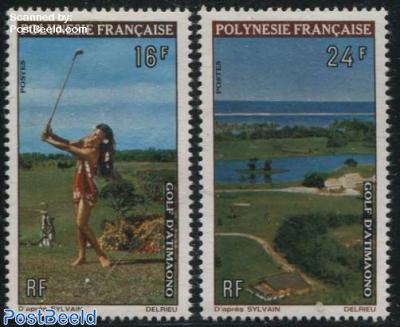 Golf sport 2v