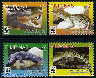 WWF, Crocodiles 4v