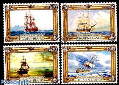 HMAV Bounty paintings 4v
