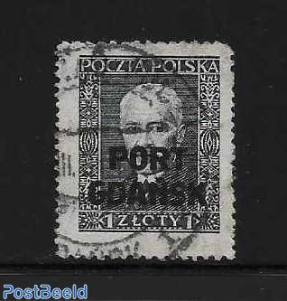Post Gdansk overprint 1 v.