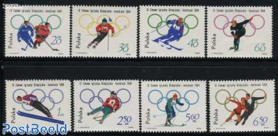 Olympic Winter Games Innsbruck 8v