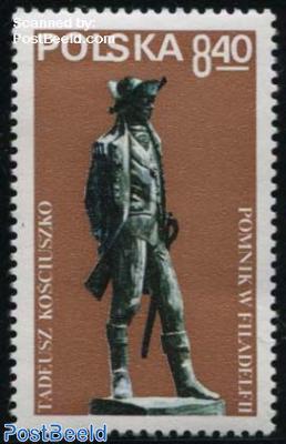 Kosciuszko memorial 1v