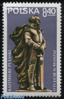 Pulaski memorial 1v