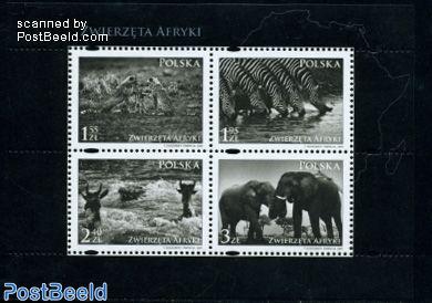 African animals 4v m/s