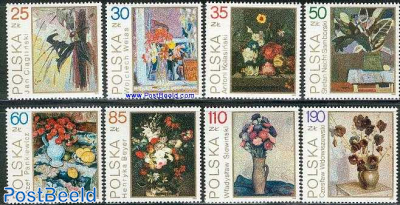 Flowerpaintings 8v
