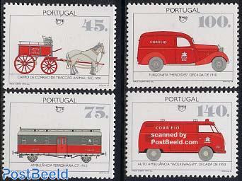 Postal traffic 4v