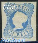 25R blue, reprint of 1885