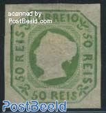 50 Reis, reprint of 1863