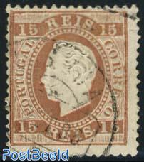15R. Brown, perf. 12.5, used