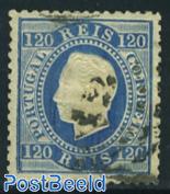 120R Blue, used