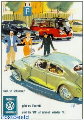 VW Beetle, Small accident
